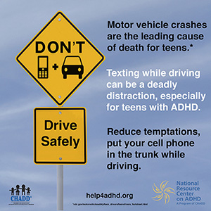 Driving With Adhd >> Teens With Adhd And Driving Chadd