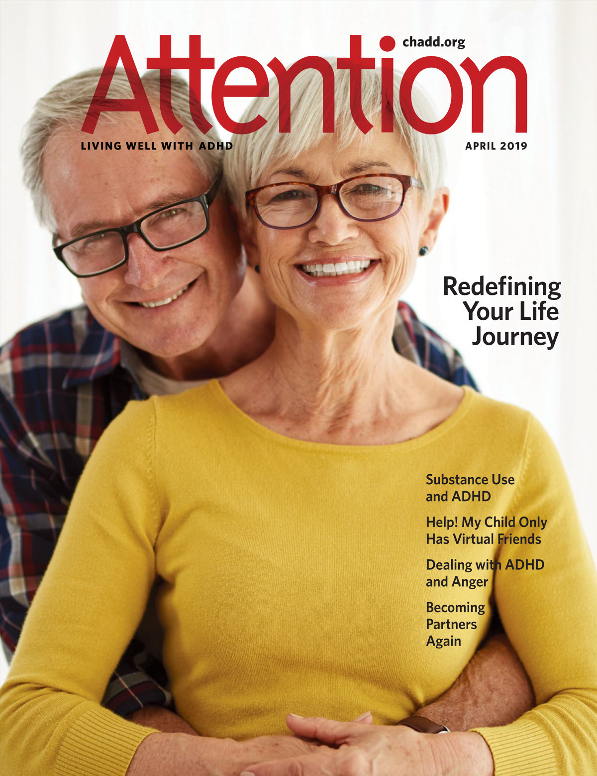 Attention Magazine April 2019 - Living well with ADHD