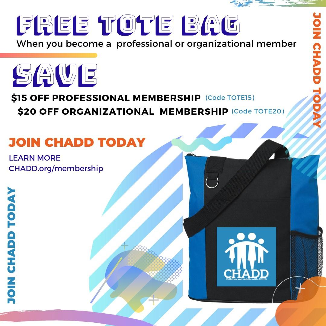 Join CHADD Today