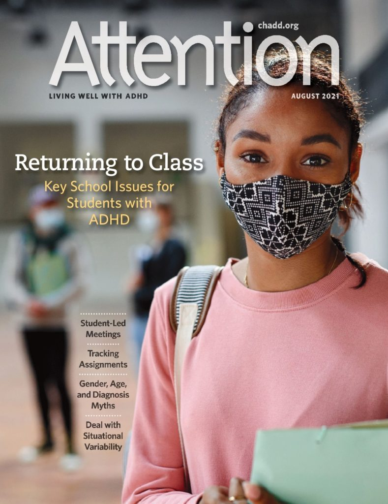 Attention Magazine Cover